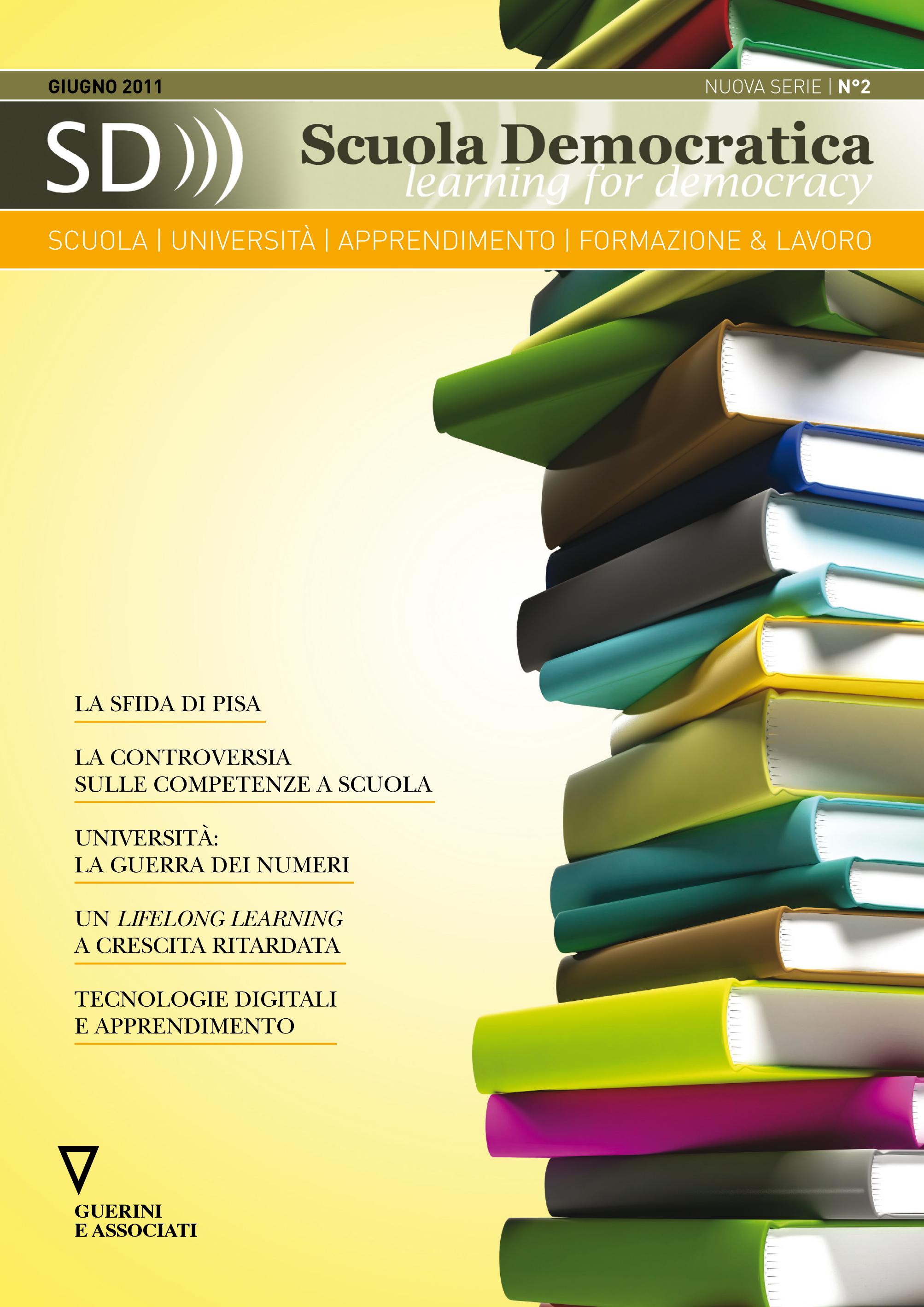 cover n2 scuola democratica nuova serie